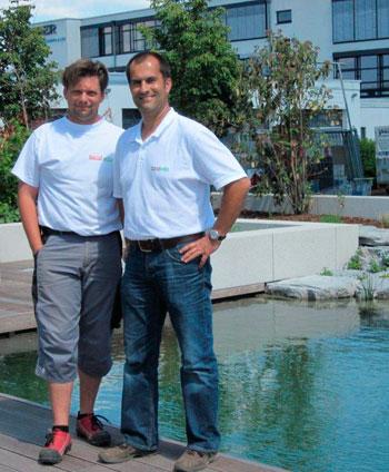 Peter Zilbauer und Reinhard Leister